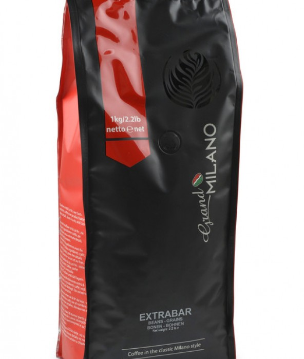 Grand Milano Extra Bar Espresso Bean 1KG