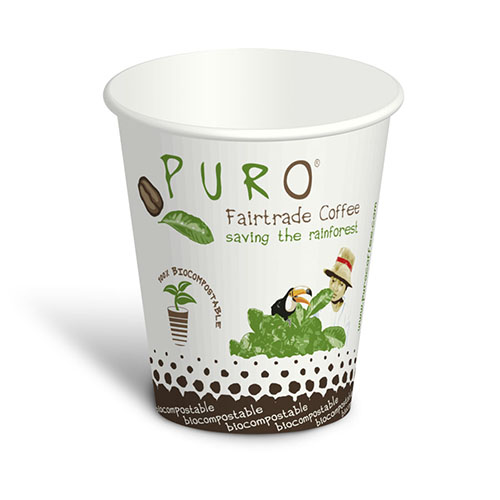 Puro Mug Organic Compostable 6 oz