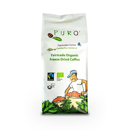 Puro Fairtrade Organic Instant - Freeze Dried 500 g