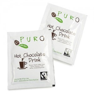 Puro Fairtrade Choco Portion Bag - 100 x 25 g