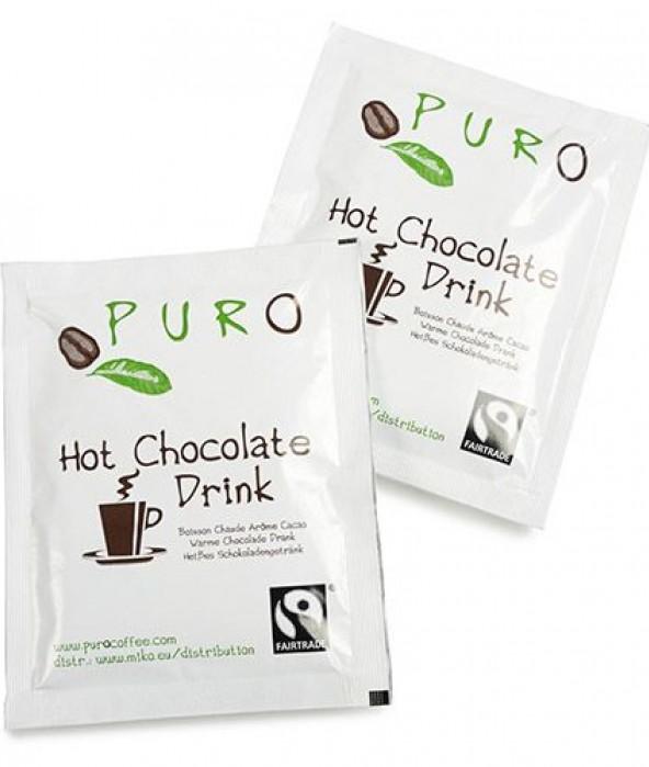 Puro Fairtrade Choco Portion Bag - 100 x 25 g