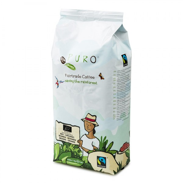 Puro Fairtrade Bio Organic - Bean 1.000 g