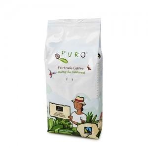 Puro Bio Organic Fairtrade - grounded 1 kg