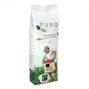 Puro Fairtrade Organic Dark Roast - Bean 250 g