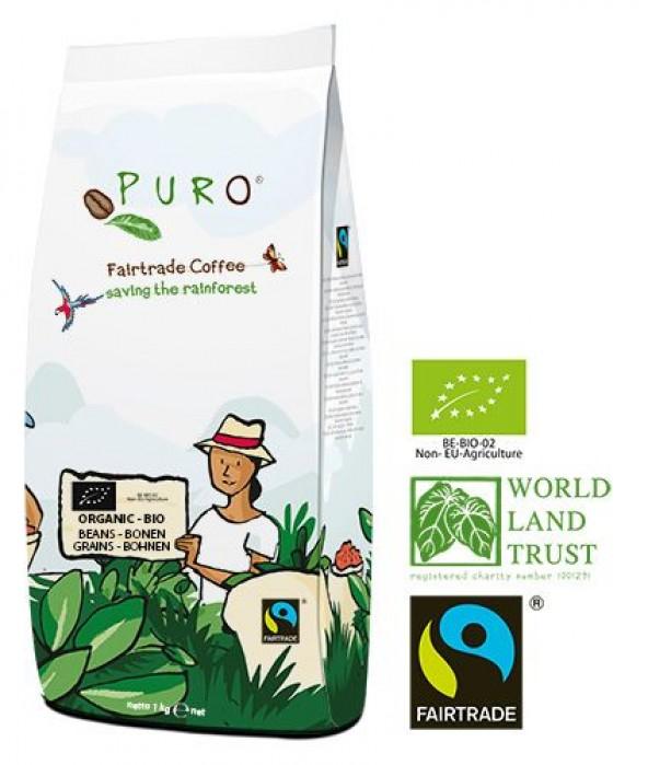 Puro Fairtrade Bio Organic - Bohne 1.000 g