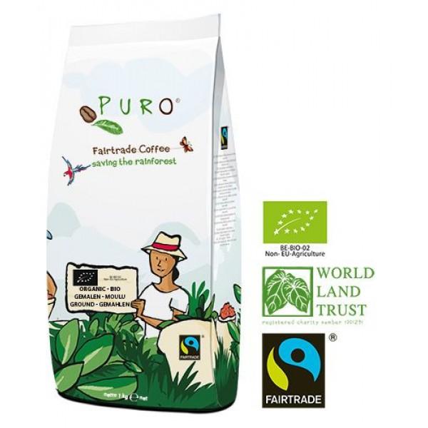 Puro Bio Organic Fairtrade - gemahlen 1.000 g