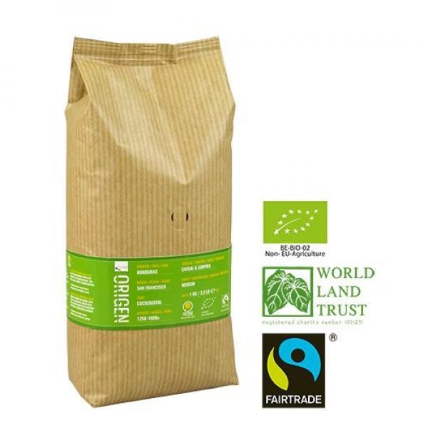 Puro Fairtrade Organic Origen Honduras - Bean 1.000 g