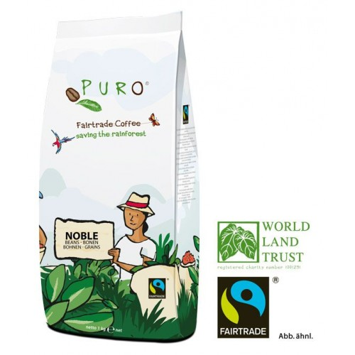 Puro Fairtrade Noble - Bean 1.000 g