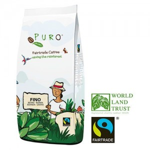 Puro Fairtrade FINO - Bean 1000 g
