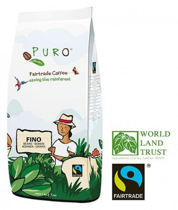Puro Fairtrade FINO - Bean 1000 g