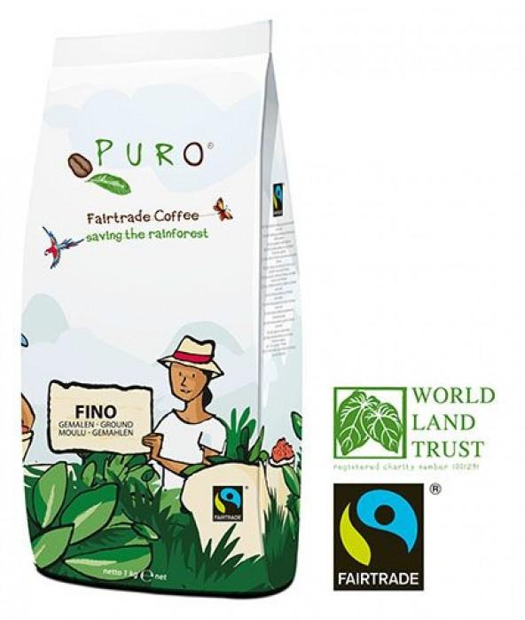 Puro Fairtrade FINO - Ground 1000 g