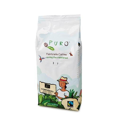 Puro Fairtrade ORGANIC Compañero  - Bohne 1.000 g