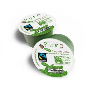 Puro Fairtrade Café Creme Capsules - 96 pieces