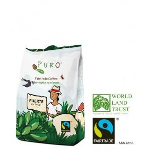Puro Fairtrade 508 Fuerte Pouch - 12 x 4 x 160 g