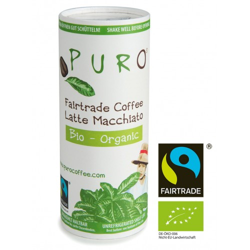 Puro Fairtrade Organic - Latte Macchiato 12 x 230ml