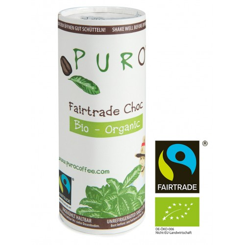 Puro Fairtrade Organic - Choc 12 x 230ml