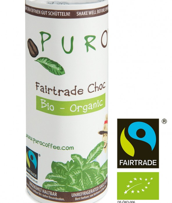 Puro Fairtrade Bio - Choc 12 x 230ml