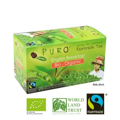 Puro Fairtrade Bio Organic Tea - English Breakfast