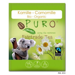 Puro Fairtrade Organic Tea - Chamomile