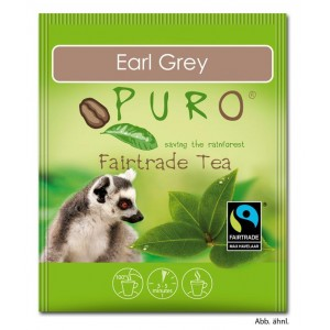 Puro Fairtrade Tee - Earl Grey