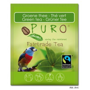 Puro Fairtrade Tea - Green Tea