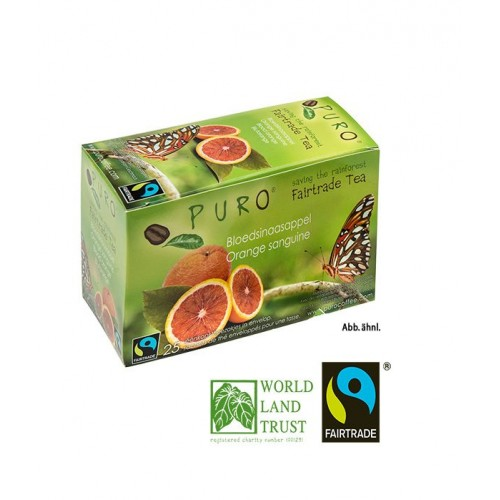 Puro Fairtrade Tea - Blood Orange