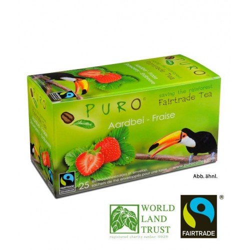 Puro Fairtrade Tea - Strawberry