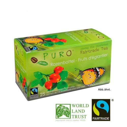 Puro Fairtrade Tea - Rose hip