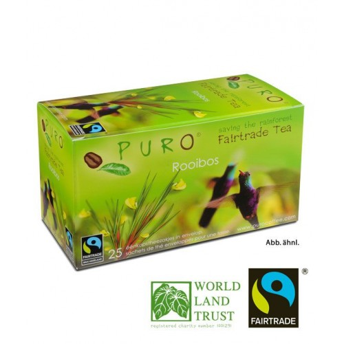 Puro Fairtrade Tea - Rooibos