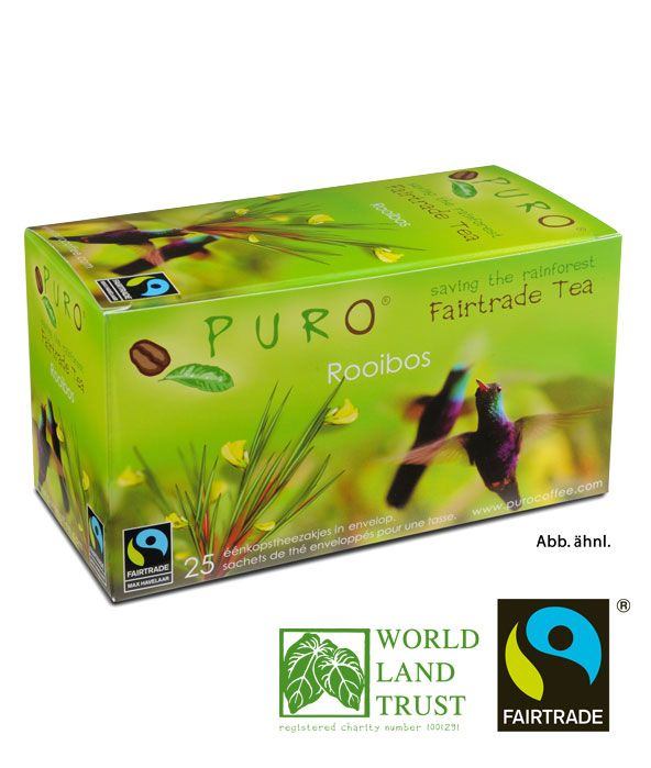 Puro Fairtrade Tee - Rooibos