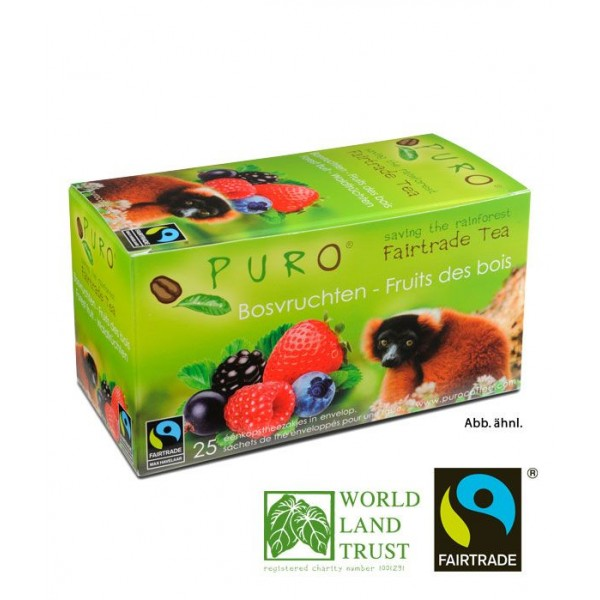 Puro Fairtrade Tea - Forest Fruit