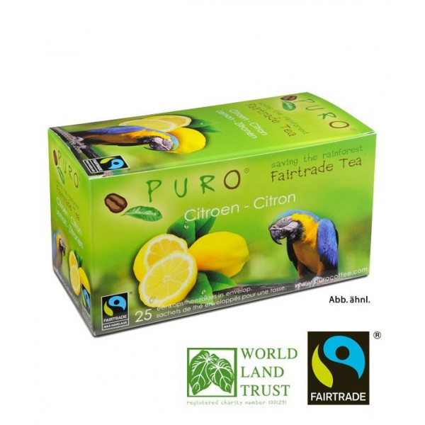 Puro Fairtrade Tea - Lemon