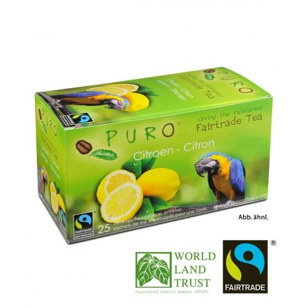 Puro Fairtrade Tea - Lemon