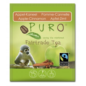 Puro Fairtrade Tea - Apple Cinnamon