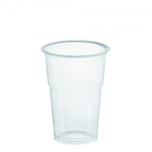 DOM-CUP FOR COLD DRINKS 500ml (17oz transparent) WITHOUT LIT