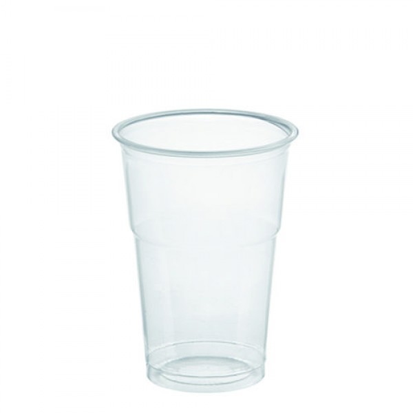 DOM-CUP FOR COLD DRINKS 400ml (14oz transparent) WITHOUT LIT