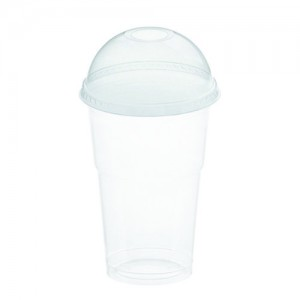 LIT FOR COLD DRINK CUP WITH WHOLE - 200ml-500ml (transparent)