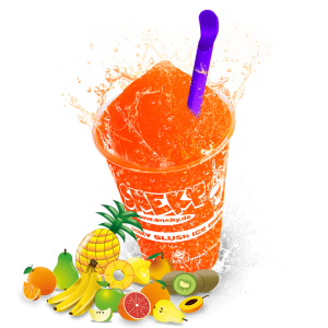 SNEKY Slush Ice SYRUP - TYP ACE MULTIFRUIT - AZOfree