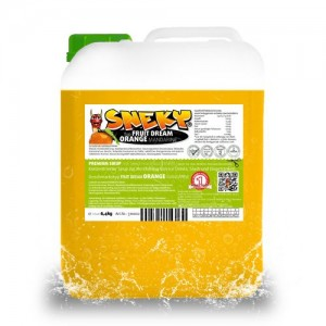 SNEKY SYRUP - TYP FRUIT DREAM ORANGE MANDARINE - AZOfree