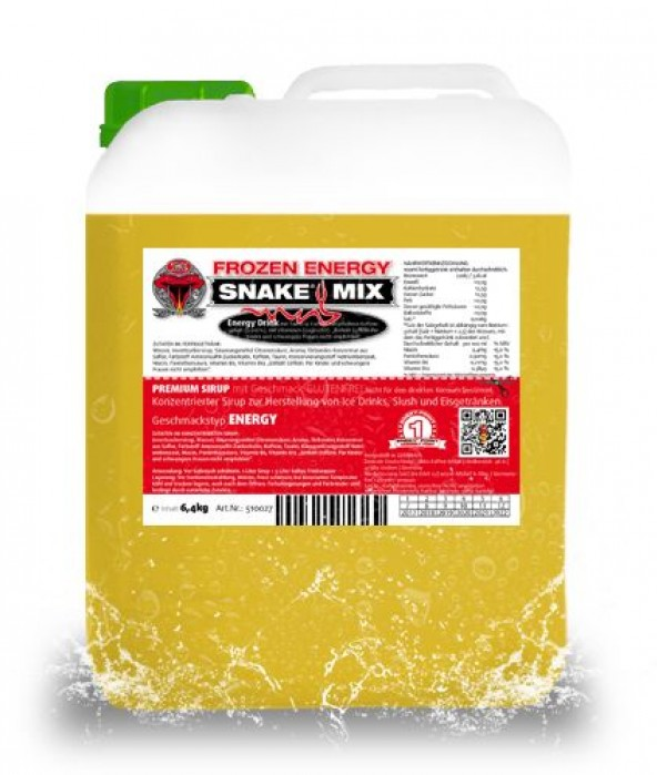 SNEKY SYRUP - TYP SNAKE MIX ENERGY GOLD - AZOfree