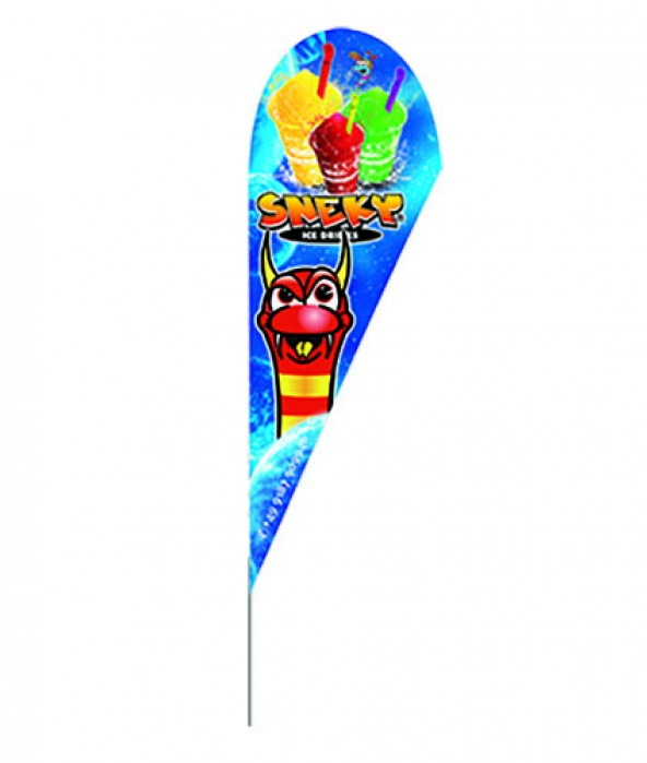 SNEKY® BEACHFLAG 3500mm