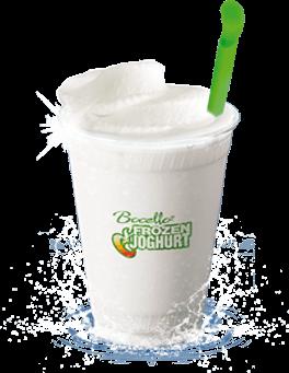 Frozen Joghurt Becher
